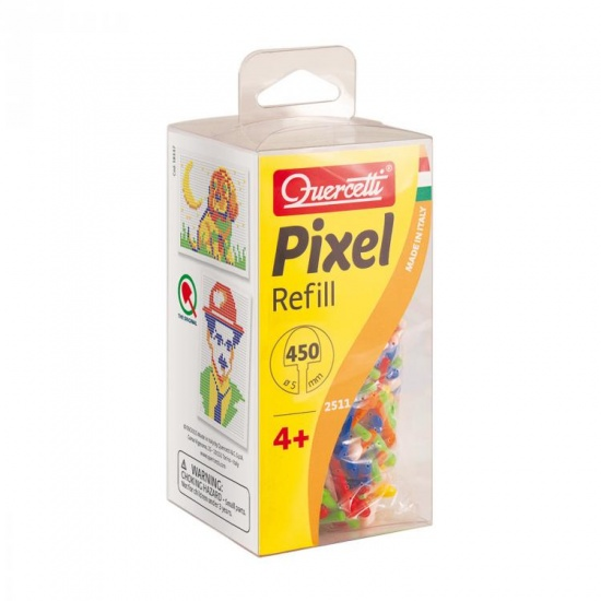 Quercetti Pixel aanvuldoos 5 mm 450 delig