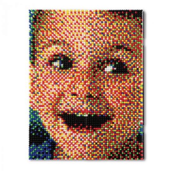 Quercetti Pixel foto klein 33 x 25 cm 6400 delig