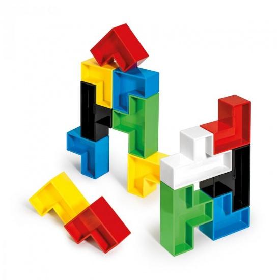 Quercetti Poli Cubi bouwblokken 19 delig