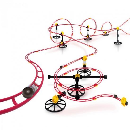Quercetti Knikkerbaan Roller Coaster Max