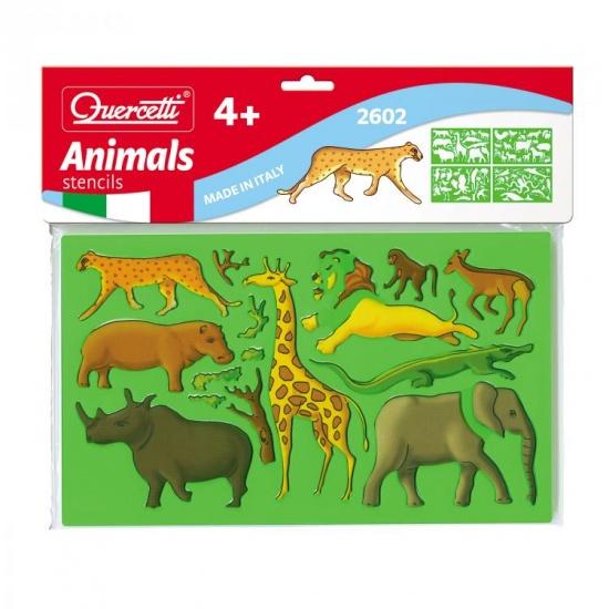 Quercetti Sagome dieren tekensjablonen
