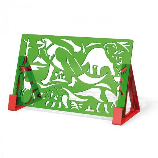 Quercetti Sagome dinosauriërs tekenset