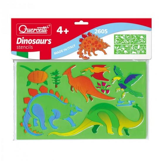 Quercetti Sagome dinosauriërs tekensjablonen