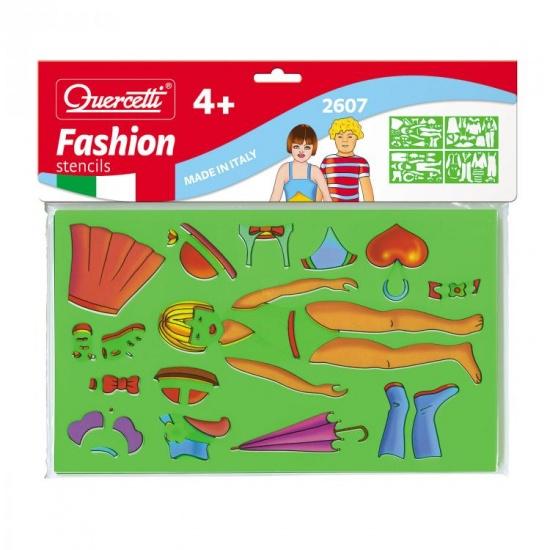 Quercetti Sagome fashion tekensjablonen