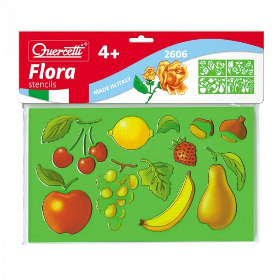 Quercetti Sagome fruit tekensjablonen