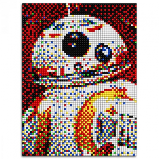 Quercetti Star Wars pixel foto BB8 5800 delig