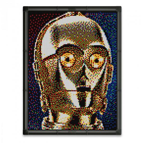 Quercetti Star Wars pixel foto C 3PO 14800 delig