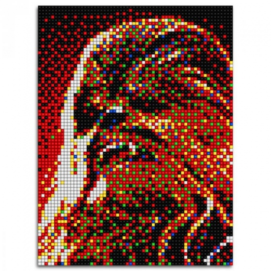 Quercetti Star Wars pixel foto Chewbacca 5600 delig