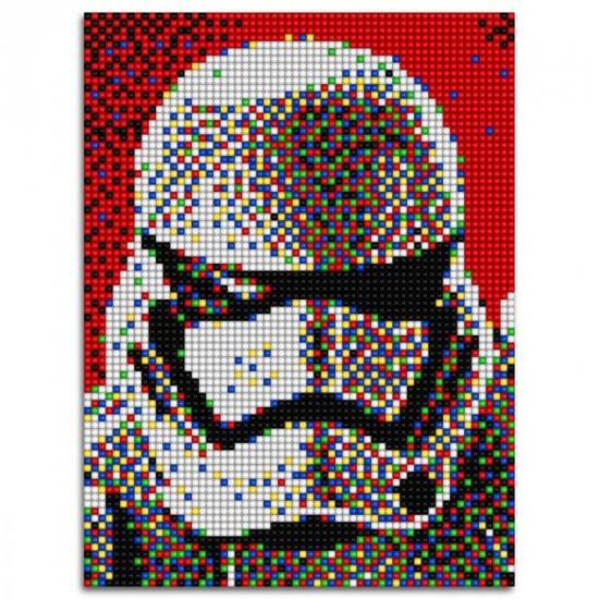 Quercetti Star Wars pixel foto Stormtrooper 5400 delig