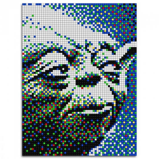 Quercetti Star Wars pixel foto Yoda 5600 delig