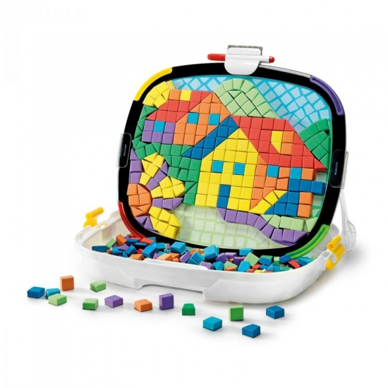 Quercetti Tablet Mosaico magneetvormen 464 delig