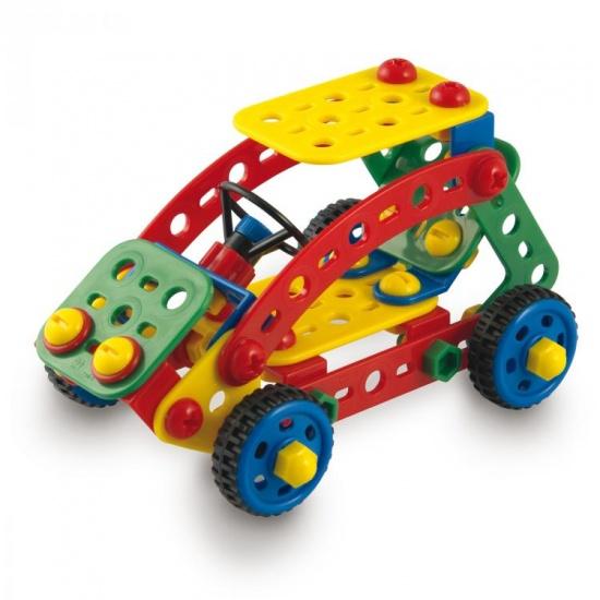 Quercetti Techno toolbox bouwpakket 128 delig