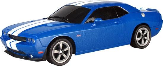 Blue Dodge Challenger >> Rc Car 1 16 Dodge Challenger Srt8 27 Cm Blue
