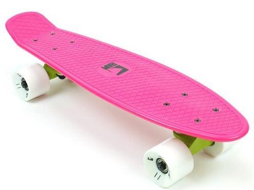 RAM Old School Skateboard Dragonfruit Pink 55.9 cm
