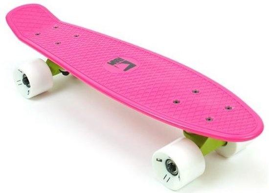 RAM Old School 22 inch Longboard Dragonfruit Pink