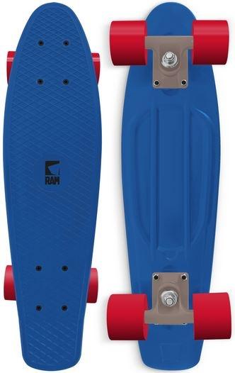 RAM Old School Skateboard Peke Blauw 55.9 cm
