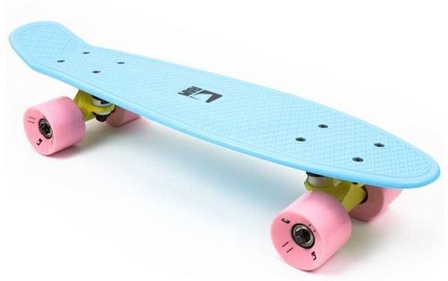 RAM Old School Skateboard Piccolina Blauw 55.9 cm
