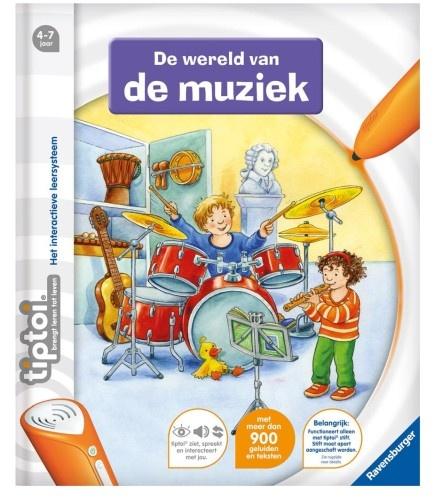 Ravensburger Boek De Wereld Van De Muziek Tiptoi (006137)