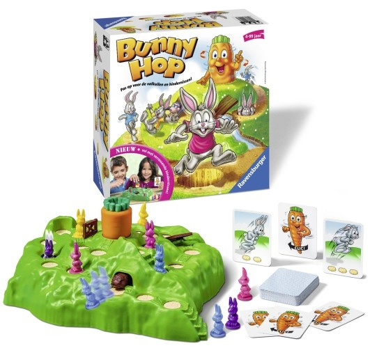 Ravensburger Bunny Hop reis edition