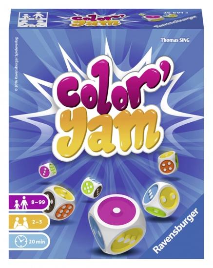 Ravensburger Gezelschapsspel: Color Yam