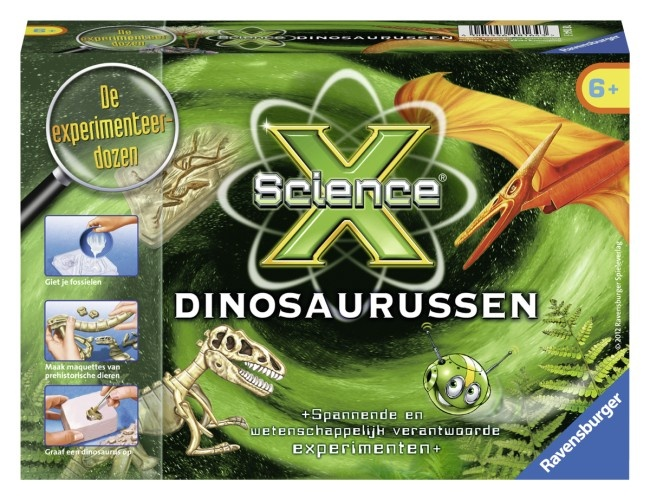 Ravensburger Dinosauriers Science X Mini