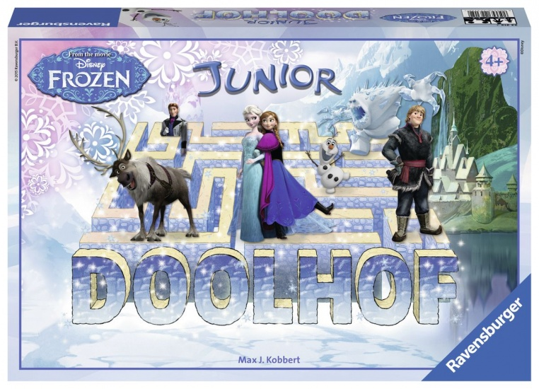 Ravensburger Gezelschapsspel: Doolhof Junior Frozen