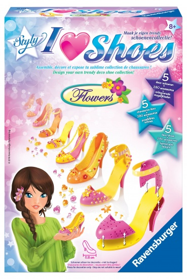 Ravensburger I love shoes So Styly: Flowers