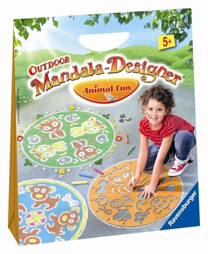 Ravensburger Outdoor Mandala Designer Animal Fun (29782)