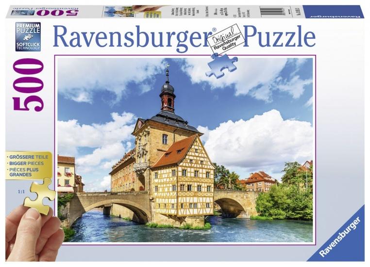 Ravensburger Puzzel Bamberg: 500 stukjes