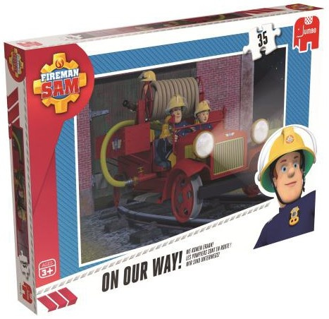 Ravensburger Puzzel Brandweerman Sam: On OUR Way 35 Stukjes