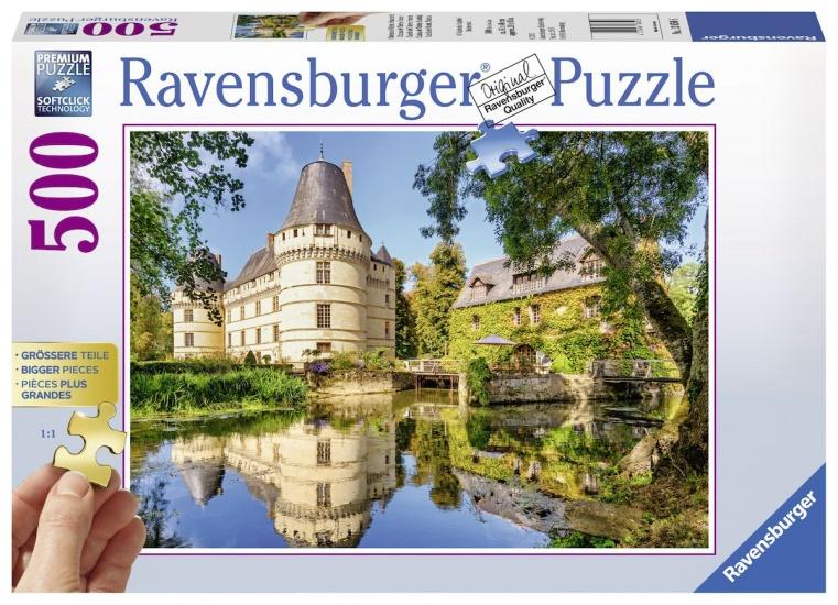Ravensburger Puzzel Chateau de l´Islette: 500 stukjes