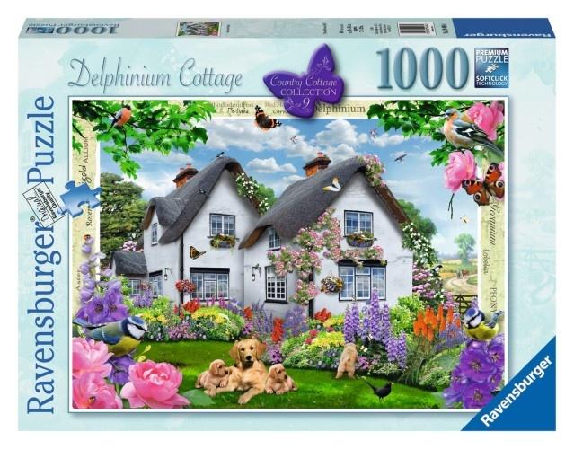 Ravensburger Puzzel Delphinium Cottage 1000 Stukjes (194964)