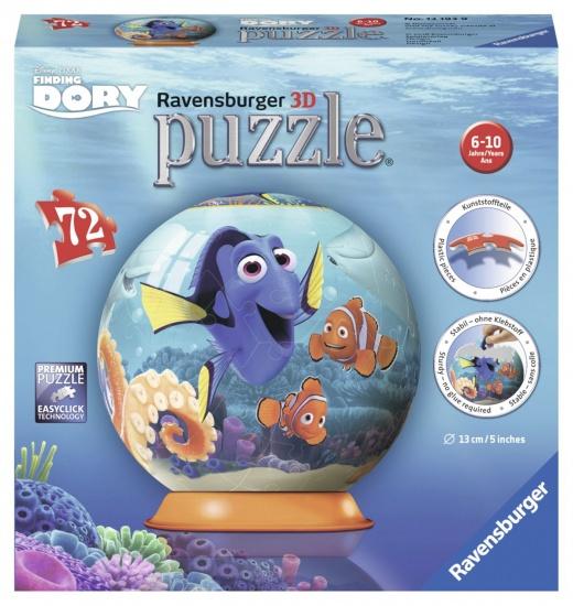 Ravensburger Puzzel Finding Dory 3d: 72 stukjes