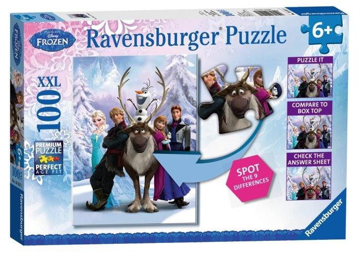 Ravensburger Frozen XXL Puzzel Difference 100 stukjes