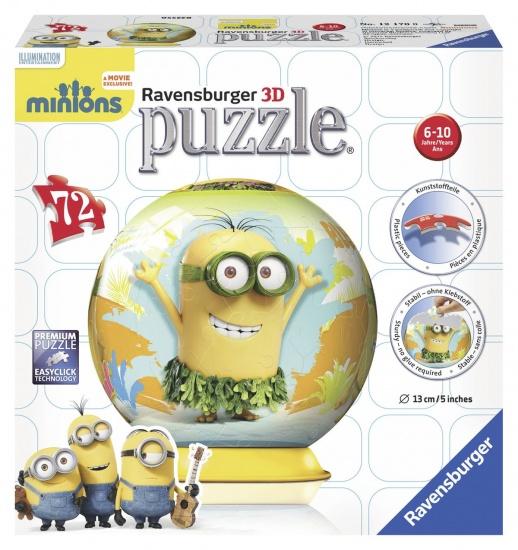 Ravensburger Puzzel Minion 3D: 72 stukjes
