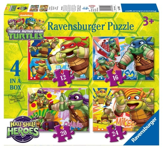 Ravensburger Puzzel Ninja Turtles: 12/16/20/24 stukjes