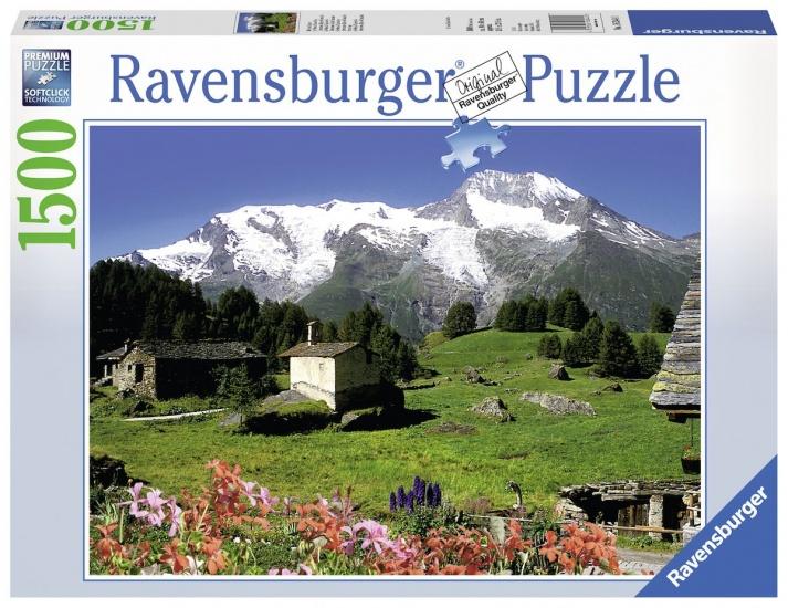 Ravensburger Puzzel Sainte Foy Tarentaise: 1500 stukjes