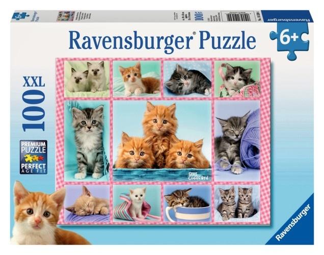 Ravensburger Puzzel Schattige Katjes 100 Stukjes