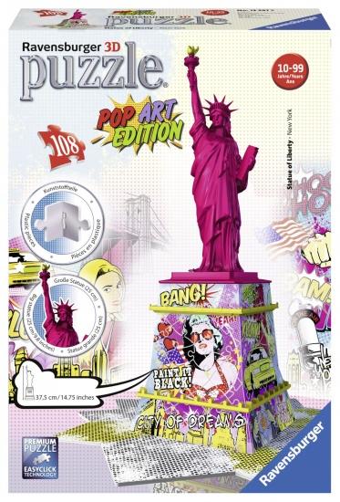 Ravensburger Puzzel Statue of Liberty 3d: 108 stukjes