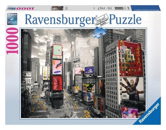 Ravensburger Puzzel: Times Square 1000 Stukjes