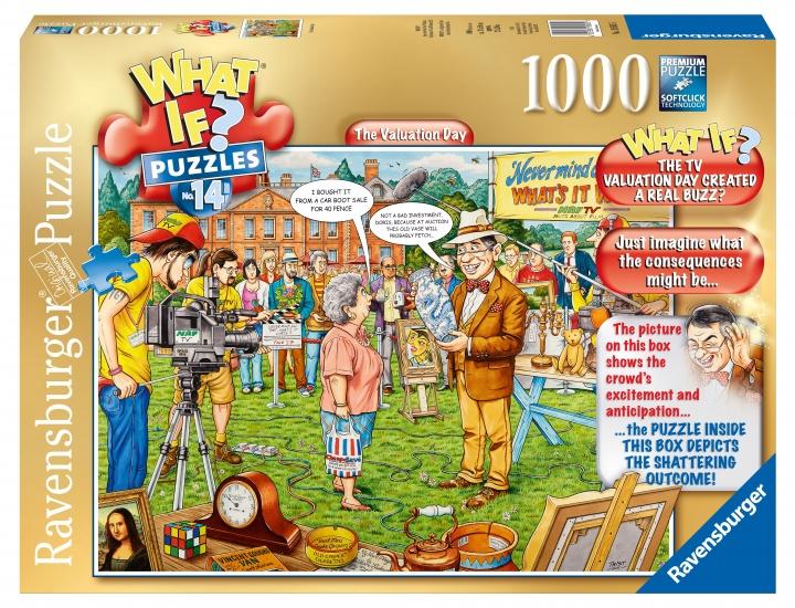 Ravensburger Puzzel What If 14: The Valuation Day 1000 stukjes
