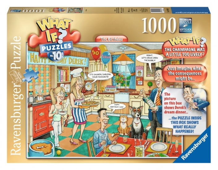 Ravensburger Puzzel What IF The Birthday 1000 Stukjes