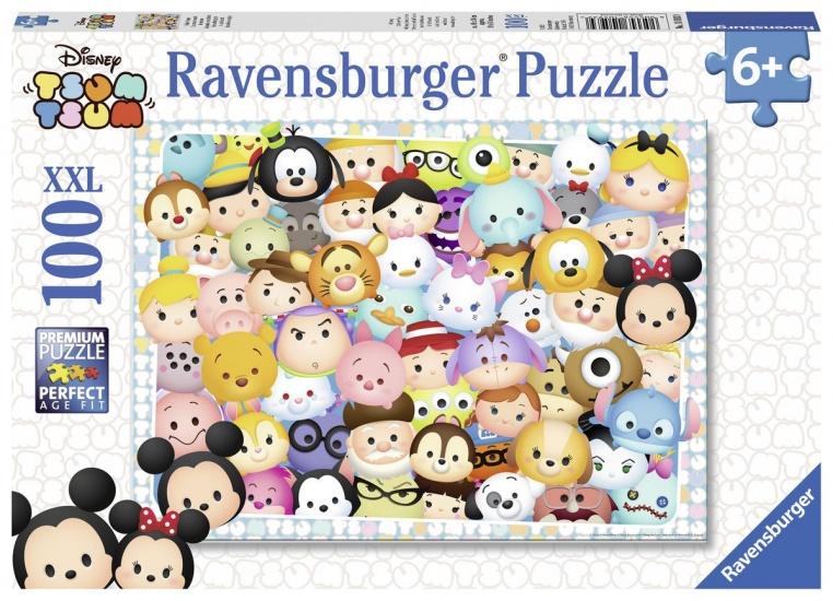 Ravensburger Puzzel XXL Tsum Tsum: 100 stukjes