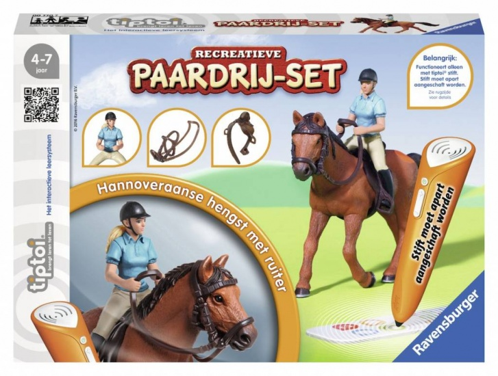 Ravensburger Spel Tiptoi: Paardrijset