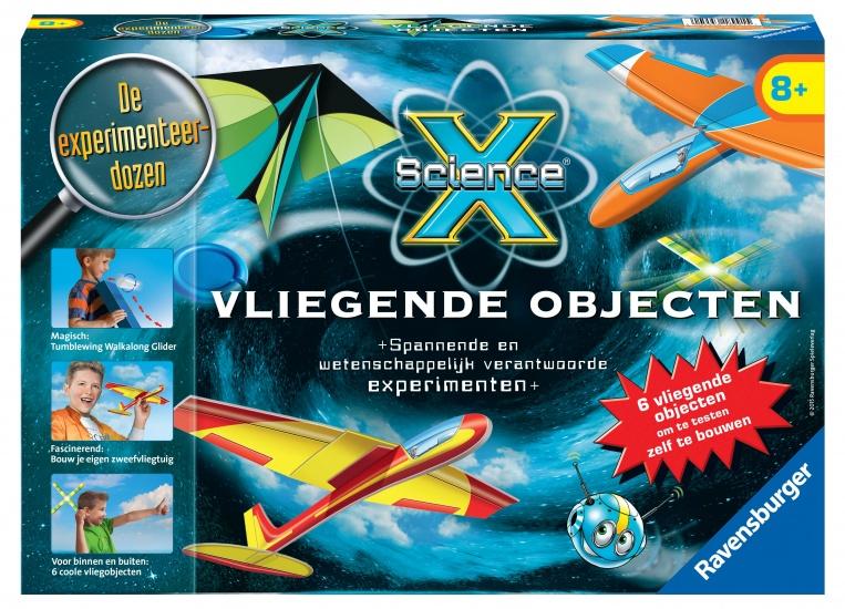 Ravensburger Vliegende Objecten Science X