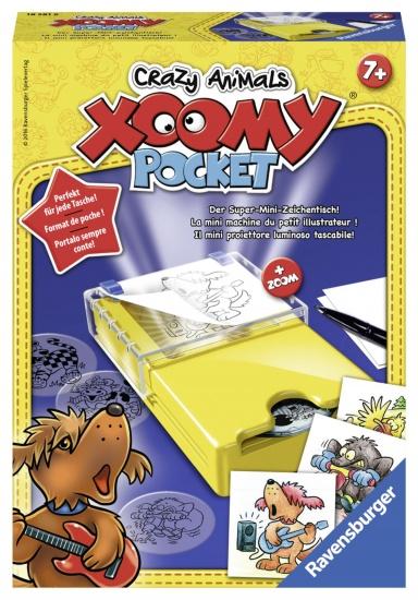 Ravensburger Tekendesigner Xoomy Pocket Crazy Animals