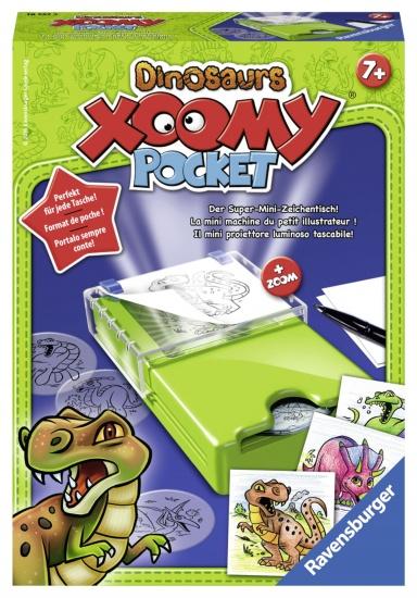 Ravensburger Tekendesigner Xoomy Pocket Dinosaurs