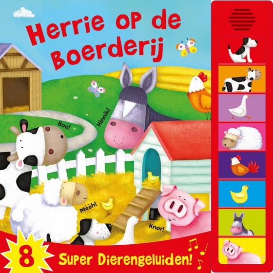 Rebo Productions geluidenboek Herrie op de boerderij junior