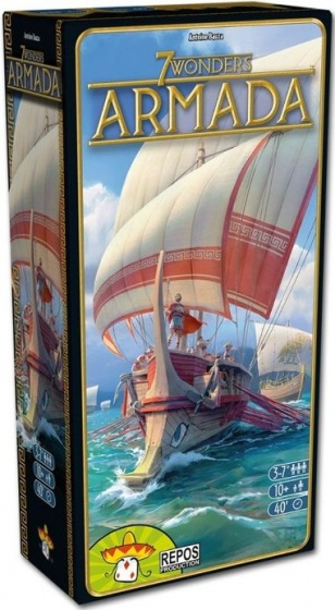 Repos Production 7 Wonders uitbreidingsset Armada