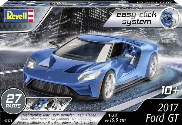 Revell 1-24 2017 Ford GT (Easy-Click System)